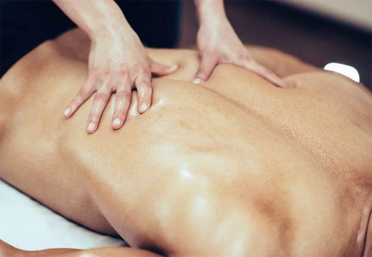 техника эротического массажа с разминкой спины